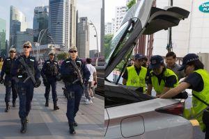 8 Potret pengamanan ketat pertemuan Trump & Kim Jong Un di Singapura