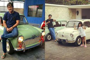 Jadi host kondang, ini 10 potret koleksi mobil tua Andre Taulany