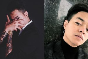 8 Pose Reza Oktovian pakai jas hitam keren, gayanya gahar abis