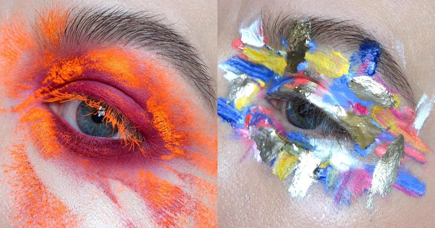 Bikin takjub, 7 pulasan eye makeup ini hasilnya mirip karya seni lukis