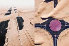 10 Potret apik jalanan Arab, kesannya misterius ditelan padang pasir