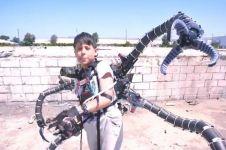 Remaja ini ciptakan lengan robot mirip musuh Spider-Man, keren abis!