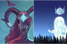 Begini jadinya jika 12 zodiak jadi dewi kayangan, cantik misterius