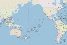 Begini cara mudah keliling dunia & kunjungi 59 negara pakai kapal laut