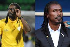10 Gaya rasta pelatih Senegal Aliou Cisse, mirip musisi reggae