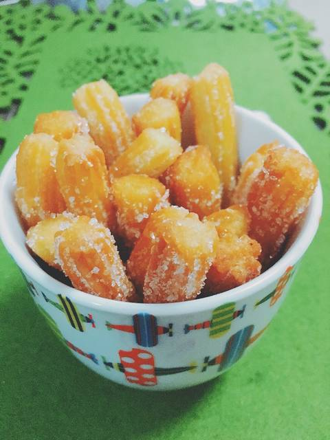 bikin churros mini © 2018 Cookpad