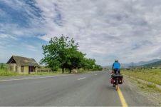 Demi Piala Dunia, pria ini rela tempuh jarak 4.000 km dengan bersepeda