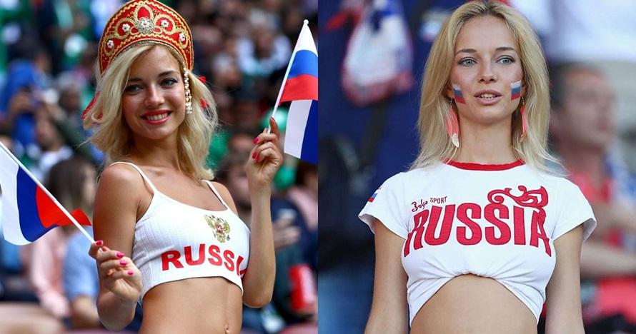 7 Pesona Delillah G, suporter seksi Rusia yang ternyata bintang porno