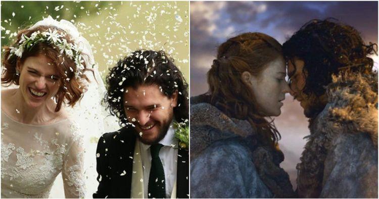 Berawal dari cinlok, dua bintang serial Game of Thrones ini menikah