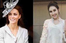 3 Seleb Tanah Air pakai baju kembar dengan Kate Middleton, elegan abis