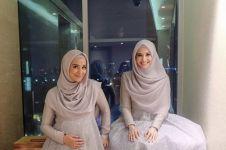 Ini bukti Zaskia & Shireen Sungkar saudara sehati, pakai baju kembaran