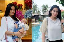 Titi Kamal unggah foto keluarga, anaknya bikin warganet salah fokus
