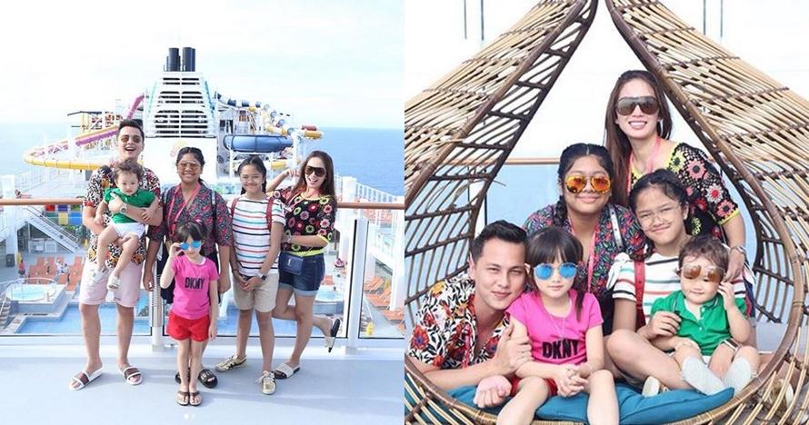 10 Potret liburan Andhika Pratama & Ussy di kapal pesiar, seru banget