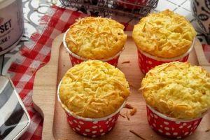 Cara mudah bikin yoghurt cheese muffin yang lembut dan gurih