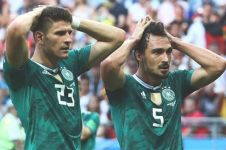 Kutukan juara bertahan berlanjut, Jerman tersingkir di Piala Dunia