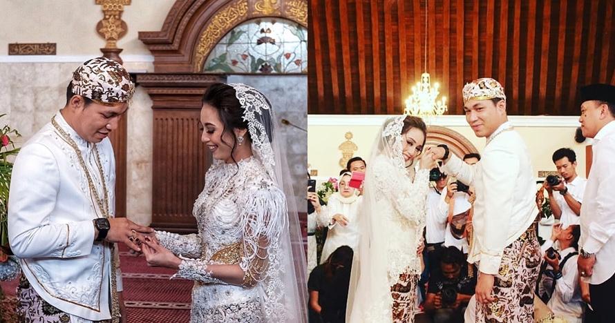 Sah! Begini 10 momen pernikahan Rizal Armada & Monica Imas