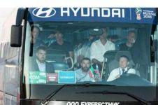 Ini alasan skuad Jerman tinggalkan Rusia dengan bus Korea, Hyundai