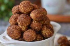Renyah bertabur gula palem, ini resep bikin palm cheese ball cookies