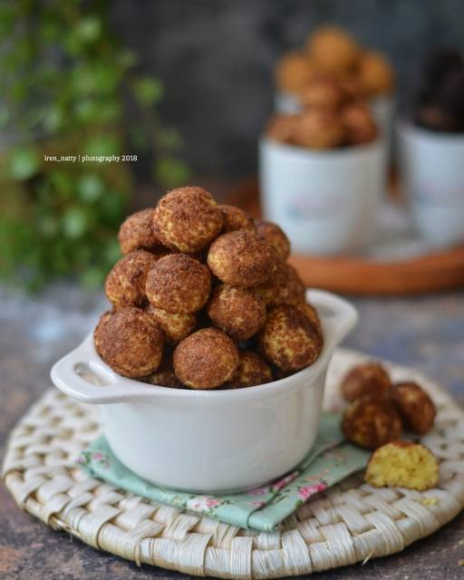 palm cheese ball cookies © 2018 Cookpad