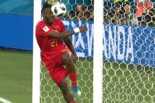 Detik-detik selebrasi Batshuayi berakhir apes saat kalahkan Inggris