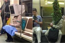 10 Kejadian paling absurd saat di MRT, ada yang bawa rubah
