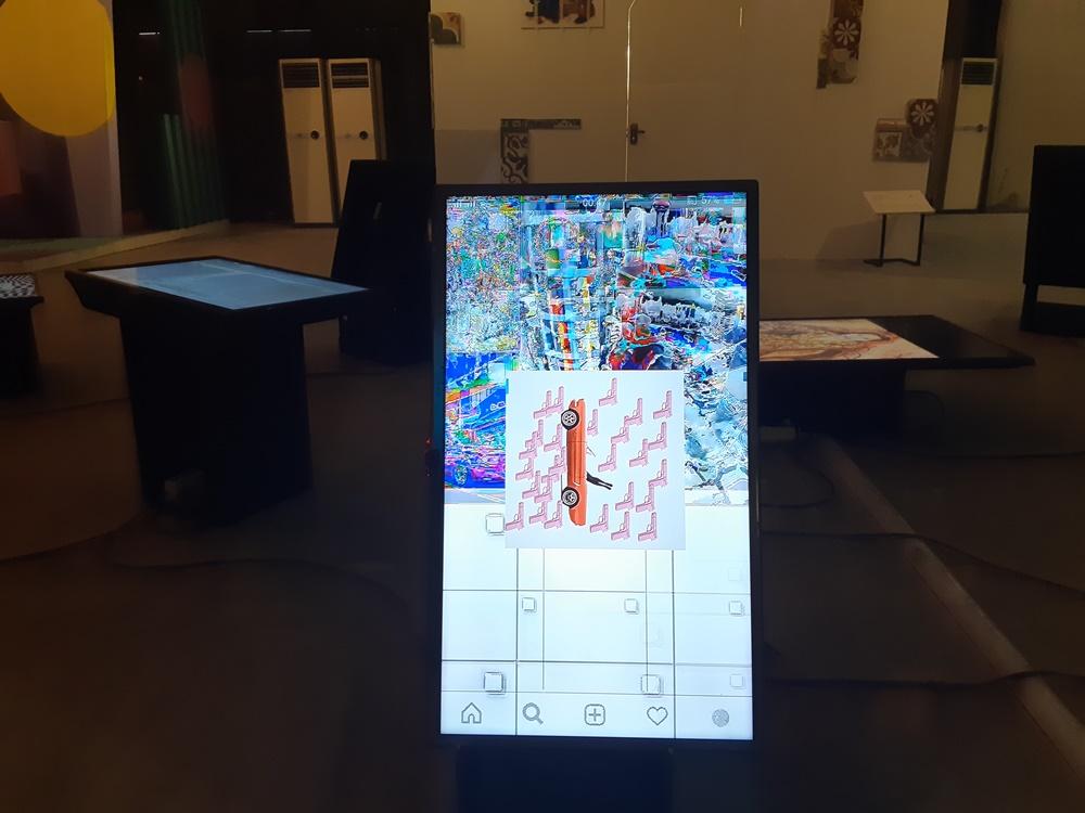 instalasi seni XSpace © 2018 brilio.net