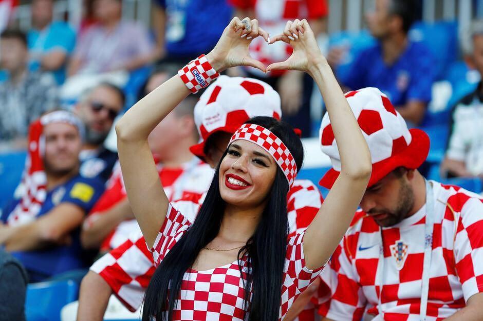 ivana suporter kroasia © 2018 brilio.net