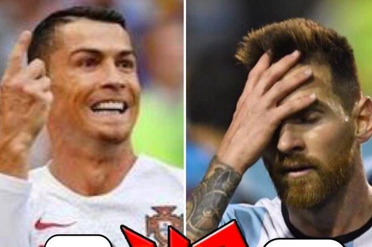 Pilih hotel eks Ronaldo, mural ini bisa bikin Messi tak nyenyak tidur