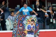Jadi suporter Piala Dunia, Maradona digaji FIFA Rp 118 juta per laga