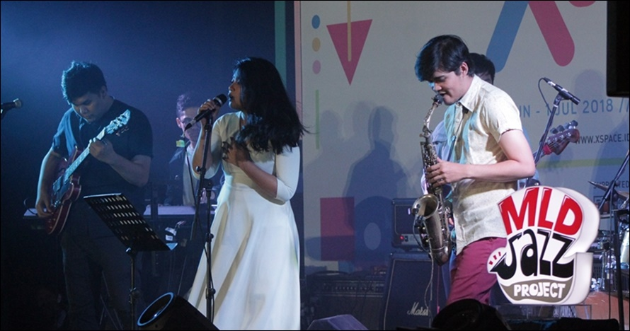 Bius penonton XSpace dengan jazz, ini 5 gaya hits band MLDJAZZPROJECT