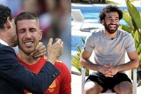 Ini cuitan Mo Salah usai Spanyol kalah, ditujukan untuk Ramos nih?