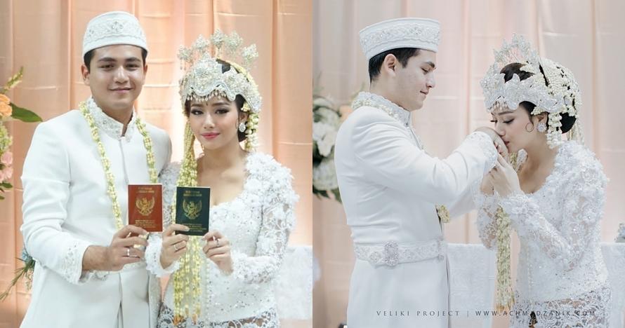 Sah, ini 10 potret sakral pernikahan Rizky Alatas & Adzana Bing Slamet