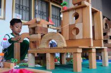 Permainan balok mampu tingkatkan kepribadian anak, orangtua wajib baca