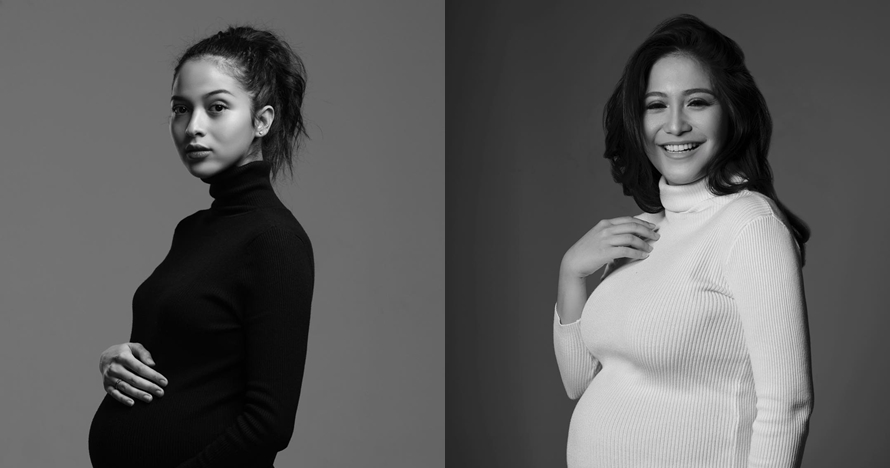 9 Potret maternity berkonsep monokrom ala selebriti, mana paling kece?
