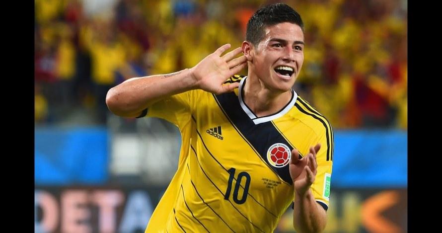Kolombia kalah, reaksi James Rodriguez ini bikin ikut mewek