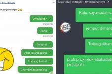 7 Chat driver ojek online dicuekin pelanggan ini kocaknya minta ampun