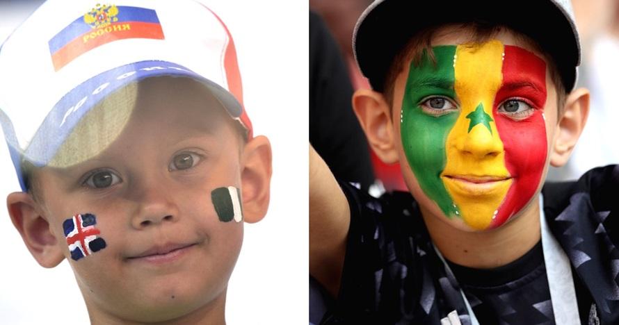 Tak cuma orang dewasa, ini 7 potret gemas anak-anak tonton Piala Dunia