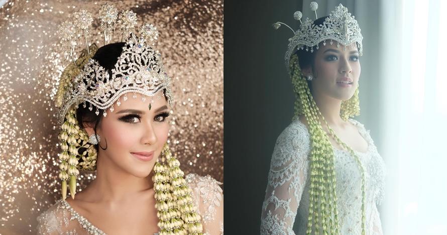 11 Seleb ini menikah dalam balutan busana adat Sunda, cantiknya pol