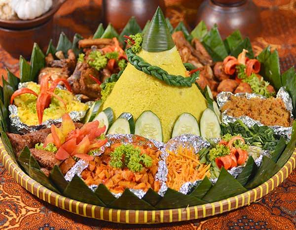 makanan unik saat perayaan © 2018 Istimewa