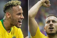 Prediksi Brasil vs Belgia, duel tim produktif lawan pertahanan terbaik