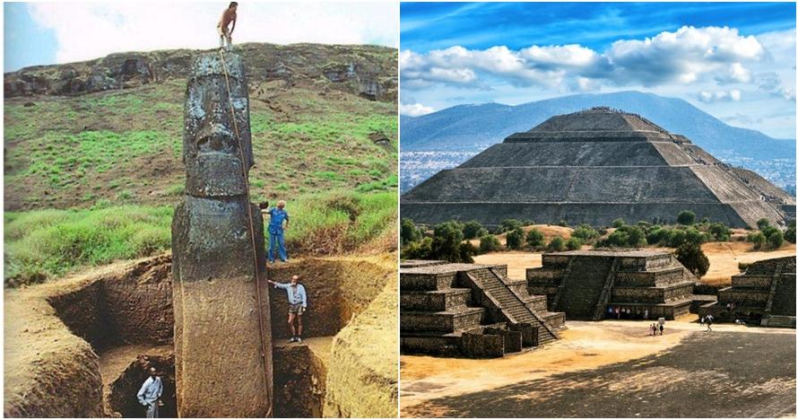 Dibikin pra modern, kemegahan 6 bangunan kuno ini sisakan misteri