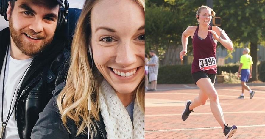 Suami ini iseng edit 9 foto istrinya lomba lari, hasilnya kocak banget