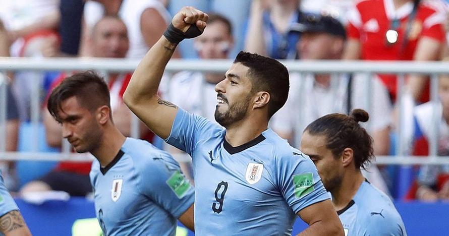 Suarez selebrasi kemenangan sebelum laga lawan Prancis, ini alasannya