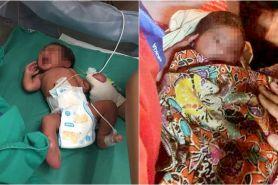 Miris, pria ini syok temukan bayi usia 2 hari di tempat tak terduga