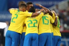 Brasil tumbang,  juara Piala Dunia dipastikan dari Benua Eropa