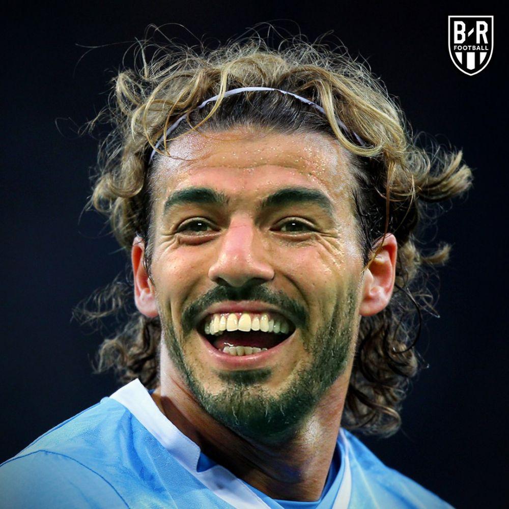 wajah pemain legenda digabung © Twitter/@brfootball