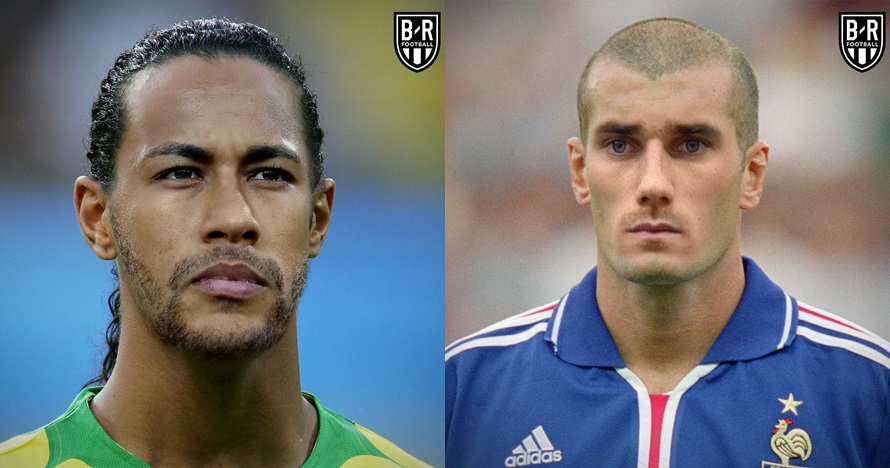 Ketika wajah 8 bintang Piala Dunia digabung dengan legenda, unik
