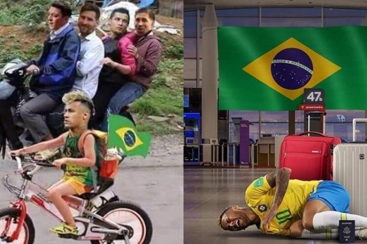 10 Guyonan Neymar Pulang Kampung Ini Bikin Ngakak Sampai Rahang K