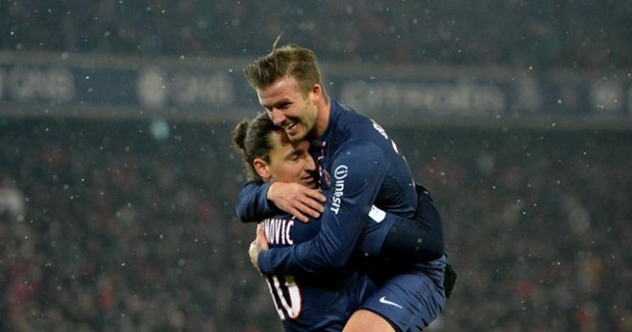 Ibrahimovic & Beckham taruhan jelang Swedia vs Inggris, ini reward-nya