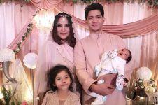 10 Momen akikah baby Aneska, putri ke-2 Audy Item dan Iko Uwais